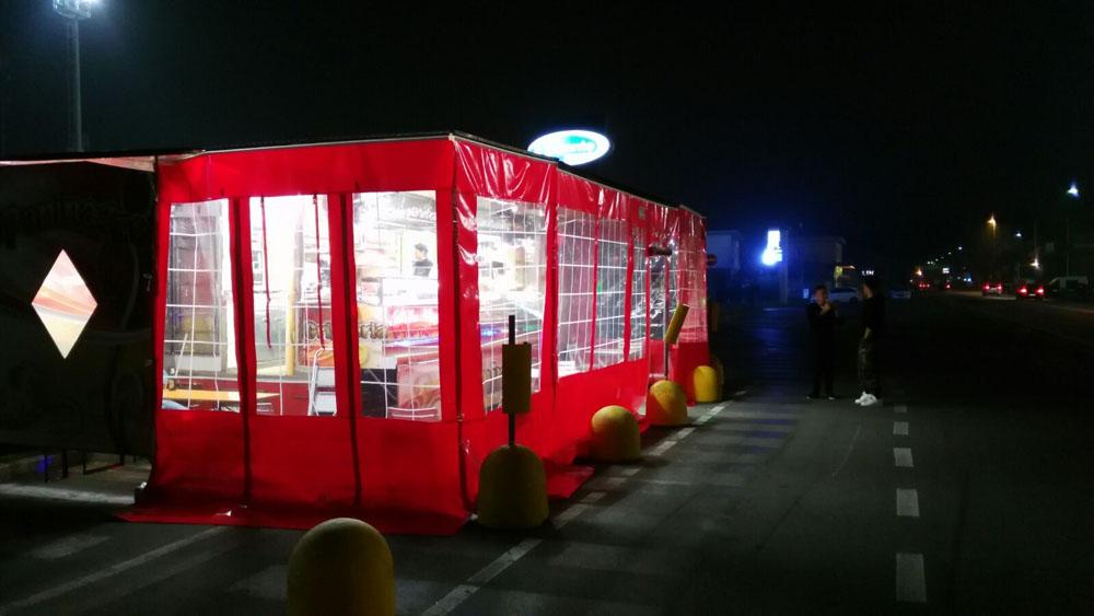 Fuscofer iveco daily s con tende per ambulanti e iveco